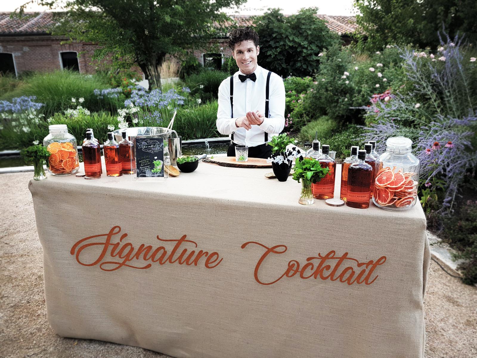 """10 ideas para triunfar con un Signature Cocktail, el """"must"""" en barra de bebidas para bodas"""