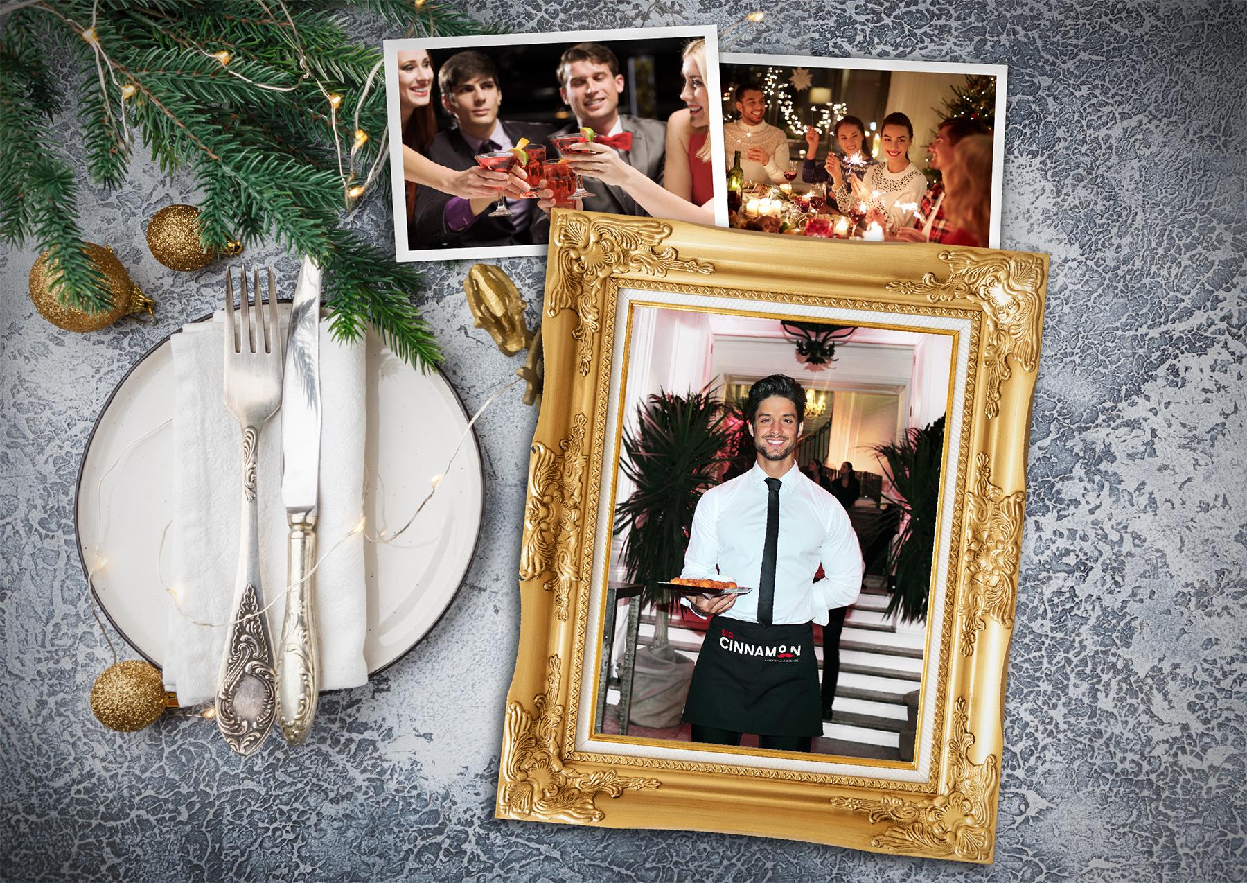 Triunfa en tu cena en las fiestas navideñas con la cocteleria a domicilio Madrid