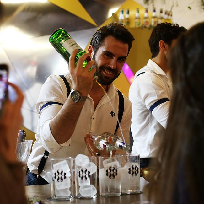 barra de bebidas para eventos