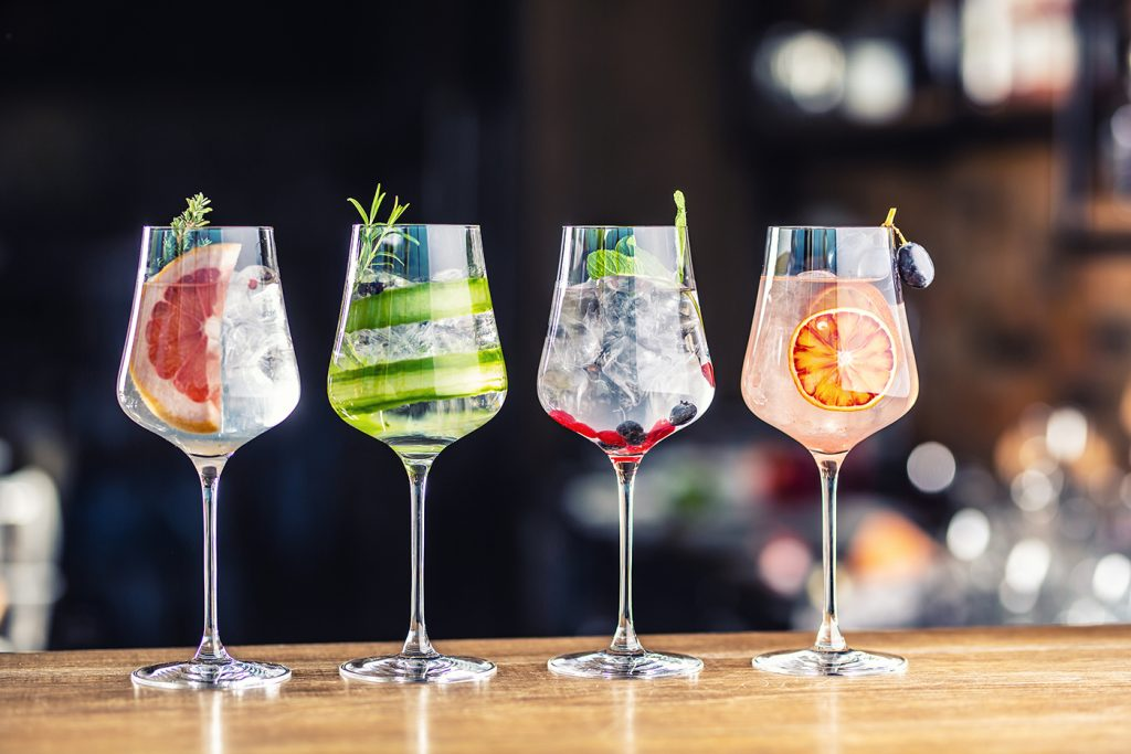 Coctel San Valentin - Gin Tonic Love
