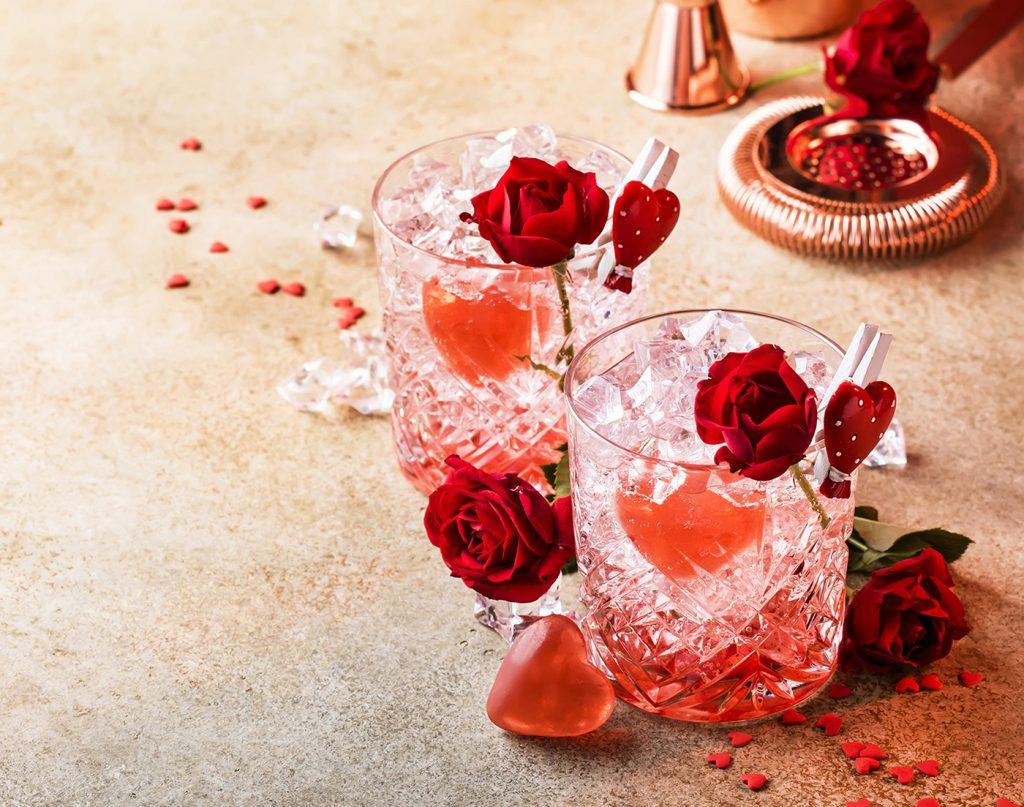 Coctel San Valentin - Strawberry Kiss
