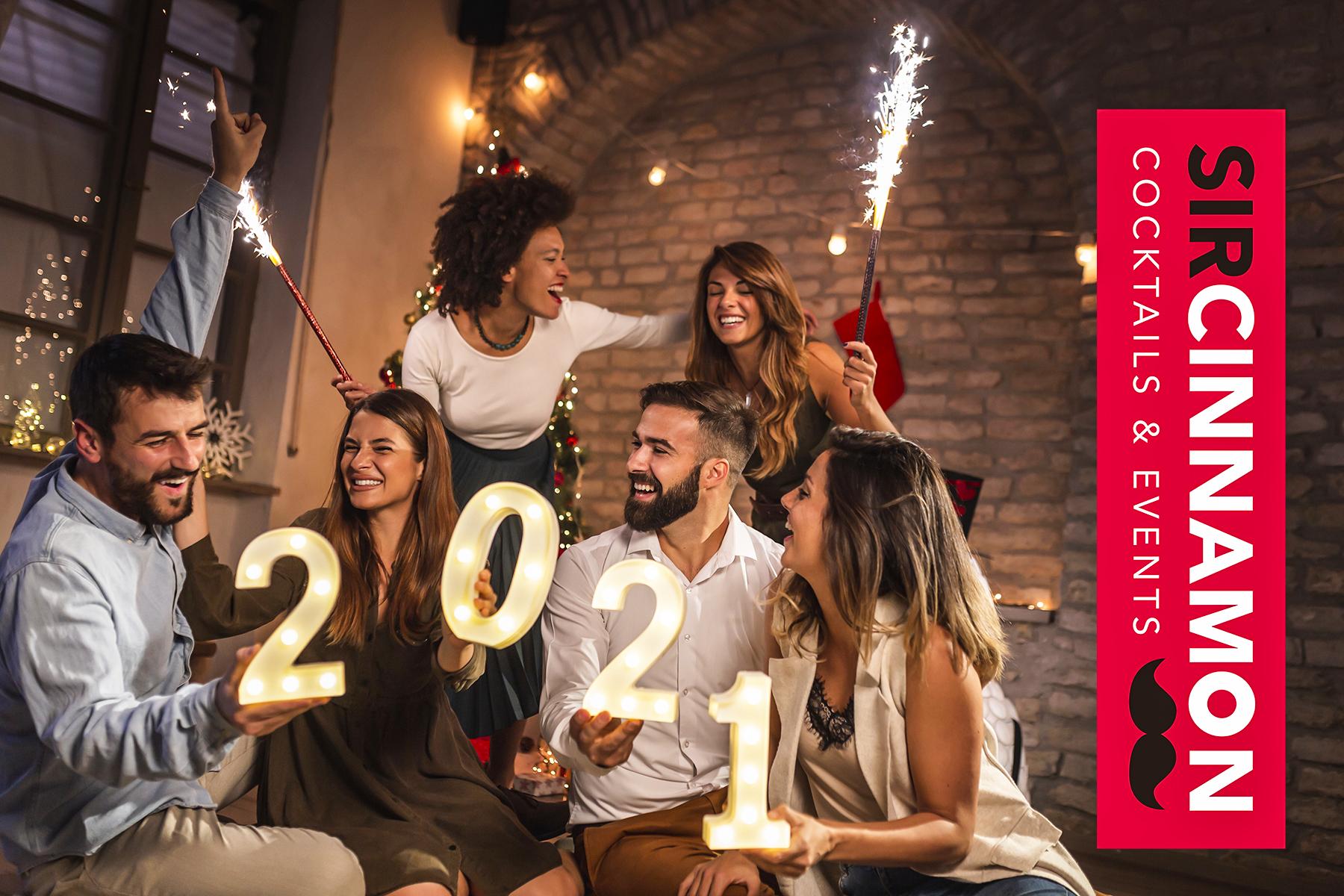 Sir Cinnamon ofrece servicios de cocteleria navidad a domicilio